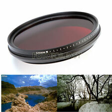 Adjustable Infrared Infra-Red IR Pass X-Ray Lens Filter 43mm 530nm to 720 750nm