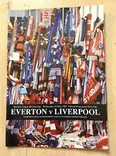 Everton v Liverpool Matchday Programme 3rd May 1989