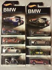 Hot Wheels Full / Complete 8Units BMW Anniversary SERIES Collection NEW