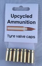 Tyre Valve Caps - Upcycled Ammunition, Steampunk, Bullet, Cycle, BMX, Trench Art