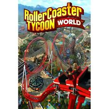 Roller Coaster Tycoon World PC Game Brand New