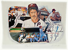 MIKE SCHMIDT SIGNED LIMITED EDITION LITHOGRAPH BY ANTHONY DOUGLAS