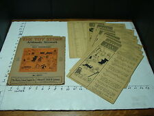 1925 SET OF TEACHING SEAT WORK--the toy store arithmetic 2nd & 3rd grade