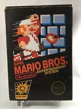 Super Mario Bros (Nintendo Entertainment System) CIB Complete In Box W/ Hang Tag