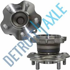2 New Rear Wheel Hub And Bearing Assembly for 2002-06 ALTIMA,