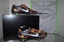 Nike Mercurial Vapor IX LE FG 677379 018 Mens Soccer Cleats Size 8.5 BLk/Orange
