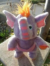 Vintage Wuzzles ELEROO Elephant Stuffed Animal Toy Hasbro Softies Plush Doll