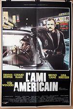 D Hopper : B Ganz : The American Friend : POSTER