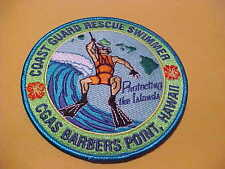 U. S. COAST GUARD AIR STATION BARBERS POINT HAWAII RESCUE SWIMMER PATCH