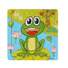 Frog Wooden Kids Children Jigsaw Education And Learning Puzzles Toys New Gifts