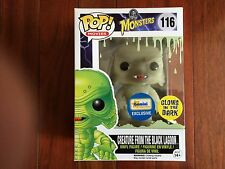 FUNKO UNIVERSAL MONSTERS EXCLUSIVE CREATURE FROM THE BLACK LAGOON~GLOW IN DARK