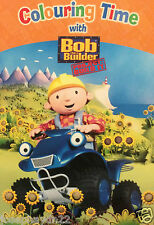NEW  COLOURING TIME with BOB THE BUILDER  Project Build It!