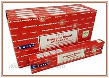 Lot of 3 Box Original Nag Champa DRAGON BLOOD Incense Stick 3 x 15gr = 45gr
