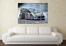 Large Ken Block Fiesta Hoonigan Gymkhana Sport Car Wall Poster Art Picture Print