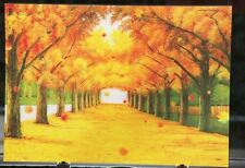 3D Effect Lenticular Printing Moving Picture Wall Decor *Maple Trees*