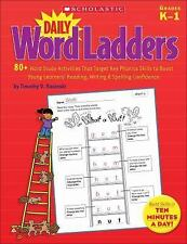 Daily Word Ladders : 80+ Word Study Activities That Target Key Phonics Skills...