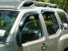 Tape-on Vent Visors 4 piece for a Kia Sportage 2005 - 2009