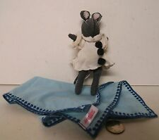 "Angelina Ballerina Grey Mouse Doll White Clown Suit American Girl 6"" Plush !!!"