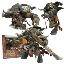 World of Warcraft KORG HIGHMOUNTAIN Deluxe Action Figure DC Direct TAUREN HUNTER