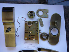 Used Tesa Onity Hotel Lock HT24i Gen 1 Antquie Brass Color Vingcard Ilco Kaba