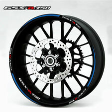 SUZUKI GSXR 750 Wheel Rim Decals Stickers