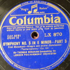 "78rpm 12"" orphan COLUMBIA LX 870"