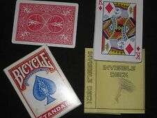Bicycle Backed Invisible Deck Magic Trick - Street, Close Up Card Magic Illusion