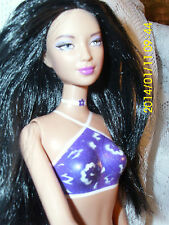 BARBIE DOLLS  MODEL #  005 1999  INDONESIA  LOVELY FACE BATHING SUIT PERMANENT