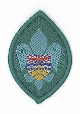 SCOUTS OF CANADA - CANADIAN BP SCOUT BRITISH COLOMBIA Membership Rank Award