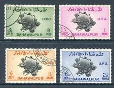 Bahawalapur 1949 UPU set 4 good perforations fine used (2013/04/29#10)