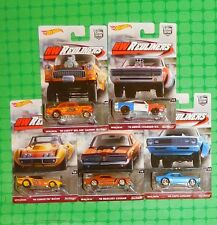 2016 Hot Wheels - Car Culture - Redliners - Set of 5 - w/ '55 Chevy Gasser