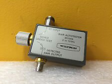 Wiltron Anritsu SP2369, 2 to 12 GHz, 30 dB, Type N / BNC (F) / GPC-7, Autotester