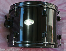 "ADD this PEARL 12"" FORUM SERIES BLACK TOM to YOUR BASS & DRUM SET! LOT #H307"