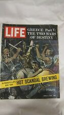 Life Magazine April 5th 1963 Greece The 2 Wars Of Destiny Publisher Time   mg761