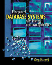 Principles of Database Systems with Internet and Java Applications,GOOD Book