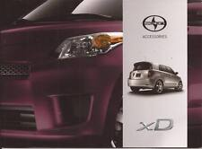 2012 12 Scion XD  Accessories  Sales brochure