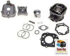 NEW BIG BORE BARREL CYLINDER HEAD KIT 70CC LC FOR DERBI Senda SM DRD Pro D50B0