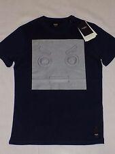 Fendi Men's Navy blue color t shirt Poloshirt Size 48/L