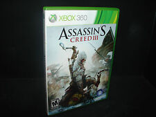Assassin's Creed III (Microsoft Xbox 360, 2012)  ***COMPLETE***  NICE!!