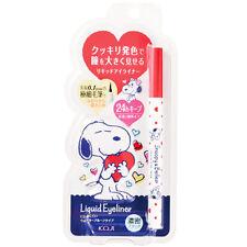 Koji Japan x Snoopy & Belle Liquid Eyeliner Waterproof [Rich Black]