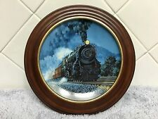 The Romantic Age Of Steam The Broad Limited by R.E. Pierce Knowles Plate