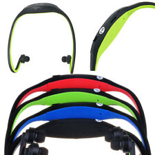 Inalámbrico MP3 Reproductor con Radio FM Diadema Sports Gimnasio en Verde hasta