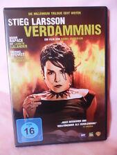 VERDAMMNIS Stieg Larsson DVD Thriller ab 16  ( 2010 )