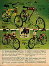 1976 ADVERTISEMENT Bikes Bicycles Motorcross Chopper Front Fork Wild Fire Flower