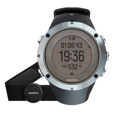 Suunto Ambit3 Peak BLACK Sapphire (HR) GPS Sport Watch with HRM SS020673000