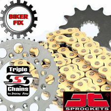 Suzuki GS550 LN-LX Chopper 79-81 GOLD Kit Heavy Duty O-Ring Chain and Sprocket