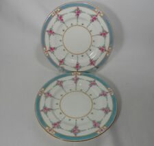 Minton Persian Rose-Older B838 Pair of Salad Plates