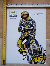 VALENTINO ROSSI YAMAHA M1 TEAM MOVISTAR DAINESE AGV THE DOCTOR46 VALE YELLOW