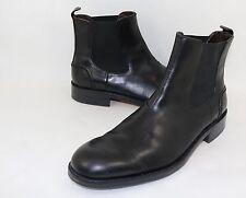 Wolverine 'Montague' Chelsea Boot Size 11 D Black Leather Moto Biker