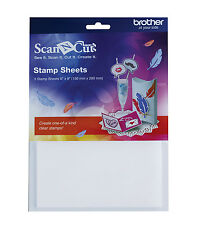 """Brother Scan N Cut Stamp Sheets 6""""x8"""" - 3 Sheets"""